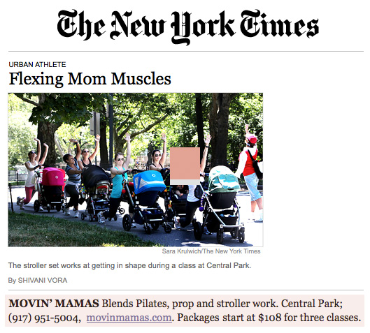 Movin' Mamas - New York Times